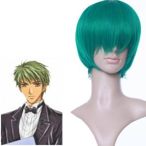 Green 32cm Kiniro no Corda Tsuchiura Ryotaro Cosplay Wig
