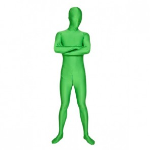 Green Full-Body Lycra Spandex Zentai Suit