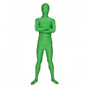 Green Full-Body Lycra Unisex Spandex Zentai Suit