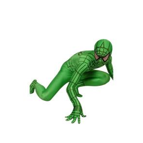 Green Lycra Spandex Spiderman Zentai Suit