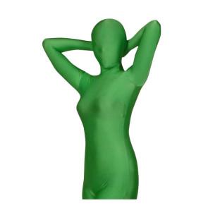 Green Lycra Spandex Unisex Zentai Suit