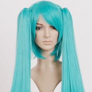 Green Vocaloid Miku Cosplay Wig
