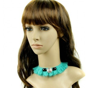 Green Woolen Lolita Necklace