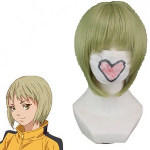 Green Yellow 32cm Tiger & Bunny Dragon Kid Pao-Lin Huang Cosplay Wig