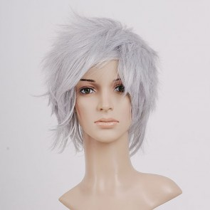 Grey Cloud Strife Cosplay Wig