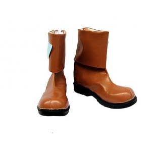 .Hack//Legend of the Twilight Hotaru Brown Cosplay Boots