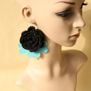 Handmade Cute Floral Girls Lolita Earrings