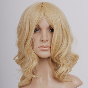 Curly Kingdom Hearts Namine Cosplay Wig