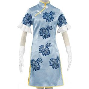 Ikkitousen Yeung Cheongsam Cosplay Costume