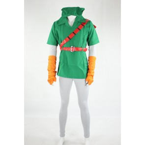 The Legend of Zelda Link Cosplay Costume - 2nd Edition