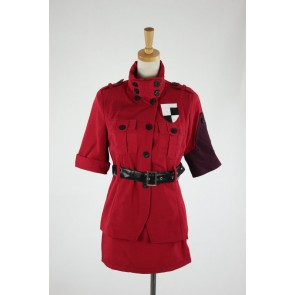 Hellsing Seras Victoria Cosplay Costume - Red