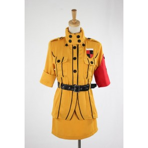 Hellsing Seras Victoria Cosplay Costume - Yellow