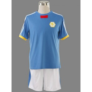 Inazuma Eleven Japanese Team Summer Football Boys Trikot Cosplay Costume