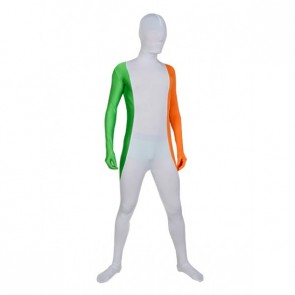 Flag of Ireland Full Body Lycra Spandex Zentai Suit