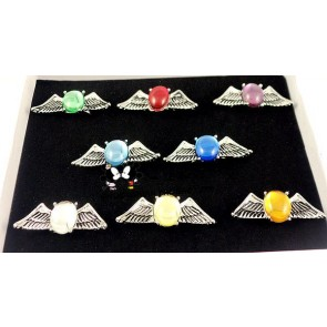 Katekyo Hitman Reborn Alloy Cosplay Ring Set