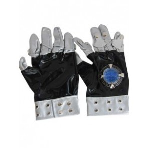Katekyo Hitman Reborn! Kokuyo Gang Cosplay PU Metal Gloves