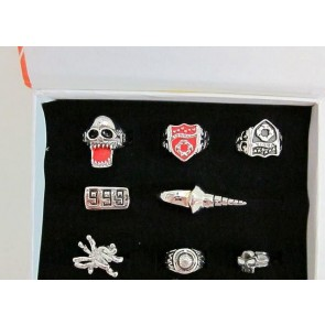 Katekyo Hitman Reborn Vongola Cosplay Ring Set