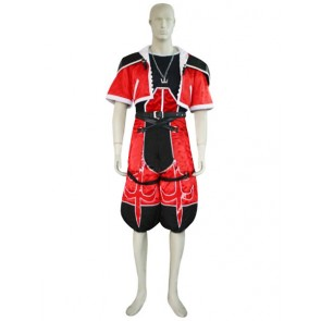 Kingdom Hearts 2 Sora Red Cosplay Costume
