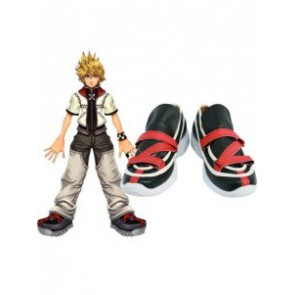 Kingdom Hearts II Roxaz Imitation Leather Cosplay Shoes