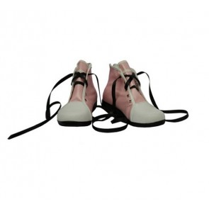Pink Kingdom Hearts Kairi Imitation Leather Cosplay Shoes