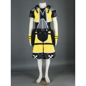 Kingdom Hearts Sora Yellow Cosplay Costume