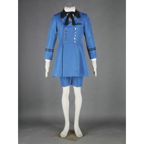 Kuroshitsuji Black Butler Ciel Phantomhive Anime Cosplay Costume