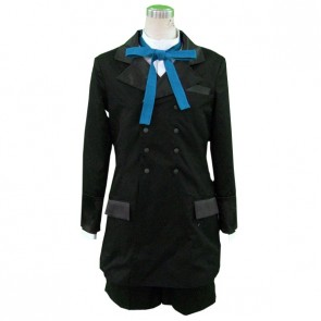 Kuroshitsuji Black Butler Ciel Phantomhive Black Suit Cosplay Costume