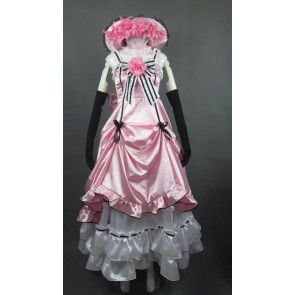 Kuroshitsuji Black Butler Pink Ciel Phantomhive Cosplay Costume Dress
