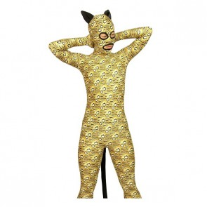 Leopard Full Body Lycra Spandex Animal Zentai Suit