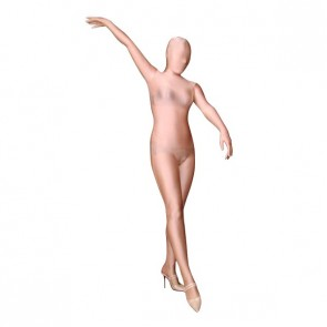 Light Brown Lycra Spandex Unisex Zentai Suit