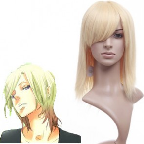 Light Gold 40cm DuRaRaRa Valrhona Nylon Cosplay Wig