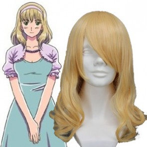 Light Gold 45cm Axis Powers Hetalia Belgium Wig