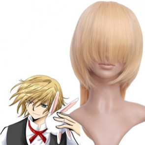 Light Gold 50cm Fay.D.Flourite Nylon Cosplay Wig