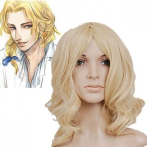 Light Gold 55cm Axis Powers Hetalia Cosplay Wig