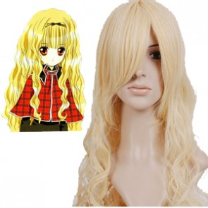 Light Gold 90cm Shugo Chara Mashiro Rima Cosplay Wig