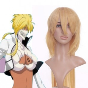 Light Golden 100cm Bleach Tier Harribel Nylon Cosplay Wig