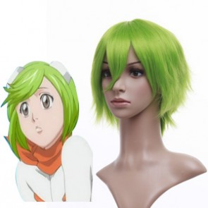 Light Green 32cm Bleach Mashiro Kuna Nylon Cosplay Wig