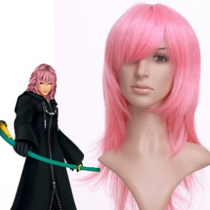 Light Pink 65cm Kingdom Hearts Marluxia Nylon Cosplay Wig