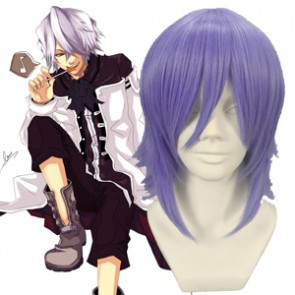 Light Purple 32cm Pandora Hearts Xerxes Break Nylon Cosplay Wig