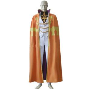 Code Geass Luciano Bradley Cosplay Costume