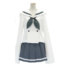 Lucky Star Akira Uniform Cosplay Costume