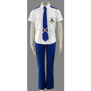 Macross Frontier Mihoshi School Uniform Cosplay Costume