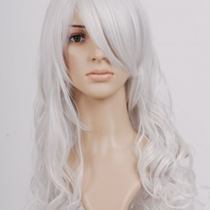 White Macross Frontier Sheryl Nome Cosplay Wig