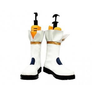 Magical Girl Lyrical Nanoha Takamachi Nanoha Battler Mode Version Cosplay Boots