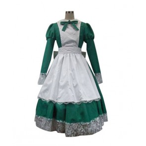Axis Powers Hetalia Maid the Republic of Hungary Cosplay Costume