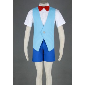Meitantei Conan Conan Edogawa Cosplay Costume - 2nd Edition