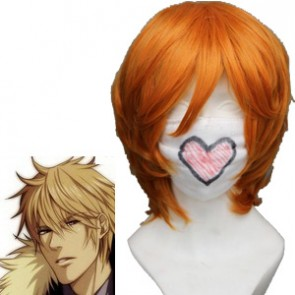 Mix Orange 40cm Sweet Pool Tetsuo Shironuma Cosplay Wig