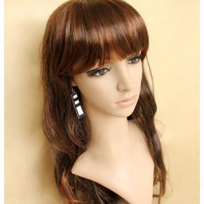 Modern Black And White Handmade Women Lolita Earrings