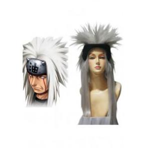 Naruto Jiraiya Cosplay Wig