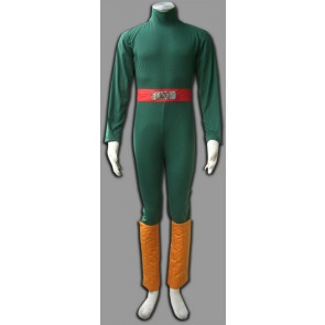 Naruto Long Sleeves Rock Lee Cosplay Costume